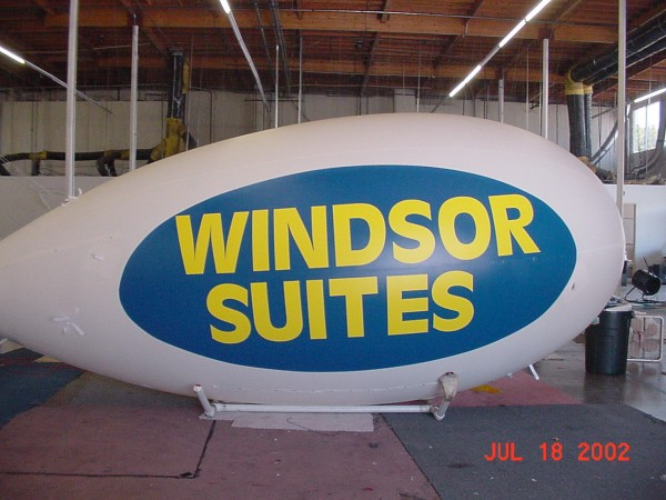 Custom Helium Advertising Blimps and Inflatables For Sale