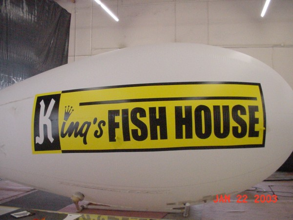 Promotional Blimp in Custom Helium Advertising Designs