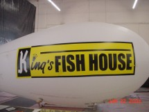 Helium Advertising Blimps Helium Blimps Promotional Blimp in Custom Helium Advertising Designs