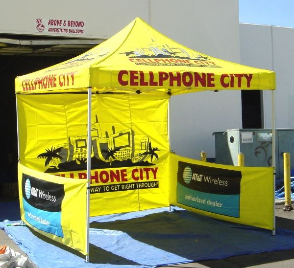 Easy Up and Pop Up Canopy Tents for Outdoor Promotional Events