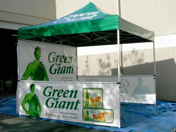 Promotional Pop Up Tent for Smart Marketing Campaign