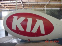 Kia Advertising Blimps
