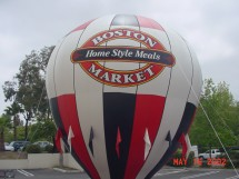 Boston Market Inflatable Advertising Balloon