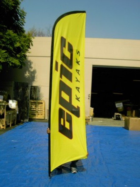 Custom Promotional Flags for Indoor and Outdoor Advertising