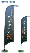 Cingular Advertising Flags