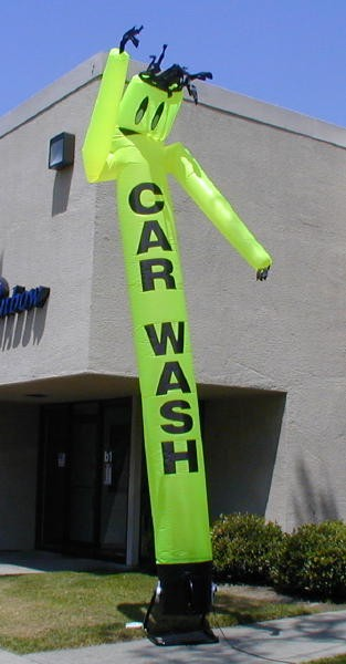 Air Dancer Inflatable Products for Car Wash Outdoor Advertising