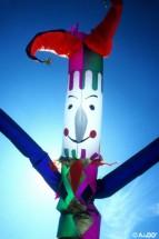 Clown Air Dancer Dallas Texas