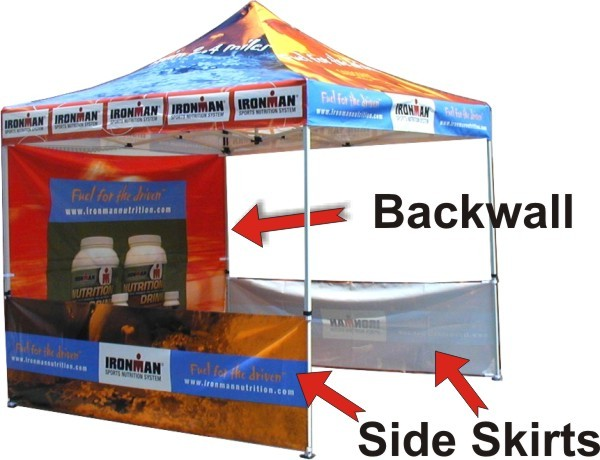 Promotional Tent: Pop Up Canopy and Easy To Use Tents