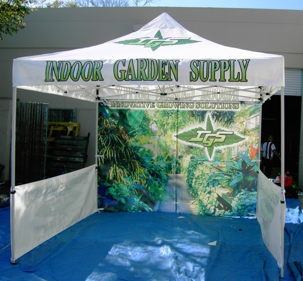 Pop Up Canopy Tent for Custom Outdoor Advertising