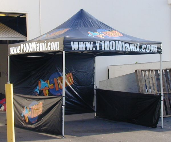 Custom Pop Up Canopy Tent for Outdoor Marketing Events