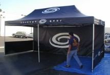 usa custom tents