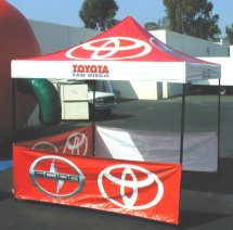Popup Advertising Tents