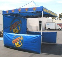 10'x10' 3-color canopy tent