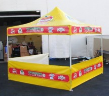 10 x 10 tent full wrap graphics