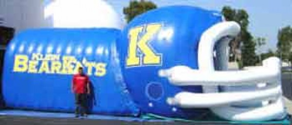 Advertising Sports Inflatables and Team Tunnels