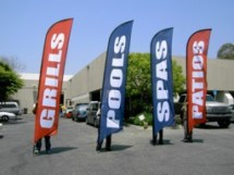 Advertising Feather Flags Advertising Feather and Banner Flags Advertising Feather Flags to Attract Your Target Market