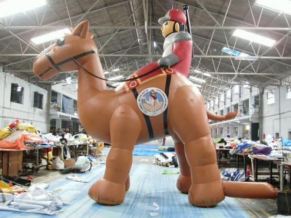 Giant Animal Inflatable for Custom Outdoor Advertising