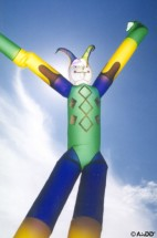Air Dancers Inflatable Air Dancer Jester Dancer Inflatable Dancing Man for Outdoor Advertising