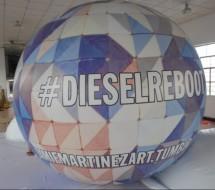 Inflatable Spheres Inflatable Advertising Spheres Digital Printed Sphere Balls: Inflatable Advertising Spheres
