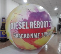 Inflatable Spheres Inflatable Advertising Spheres Inflatable Advertising Spheres: Helium Sphere Ball and Balloon