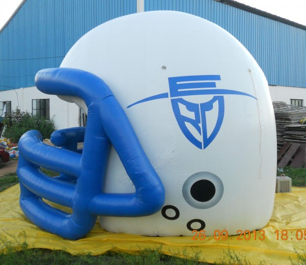 Advertising Sports Inflatables: Football Helmet Inflatable Balloons