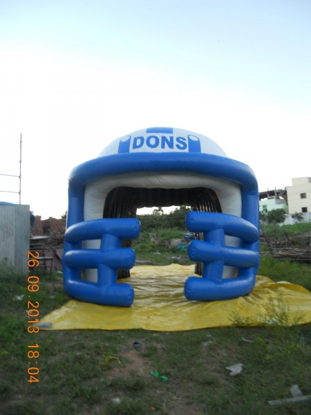 Sports Inflatables Advertising Sports Inflatables Helmet Advertising Balloons and Sports Inflatables