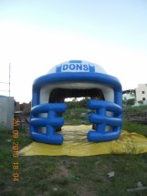 Sports Inflatables Advertising Sports Inflatables helmet balloon