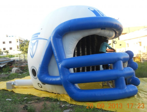 Giant Football Helmet and Custom Advertising Sports Inflatables