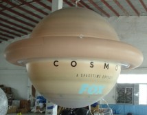 Inflatable Spheres Inflatable Advertising Spheres Inflatable Planet Saturn Sphere on Retail Stores and Trade Shows