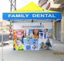 Promotional Pop Up Tents Promotional Pop Up Tents Promotional Pop Up Tents and Inflatables for Dental Advertising