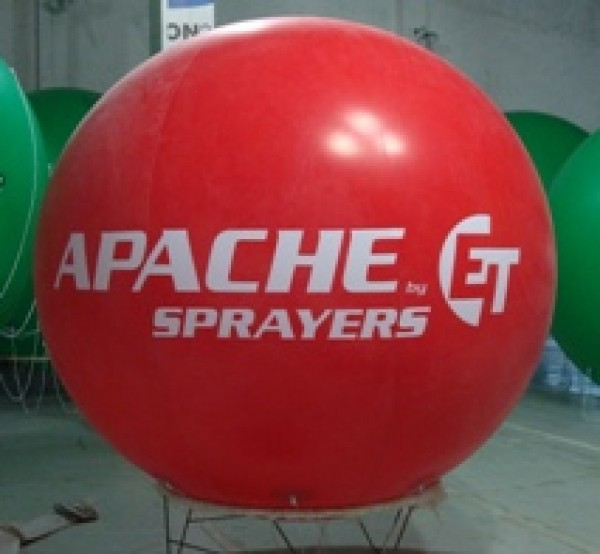 Red Balloon Sphere Ball