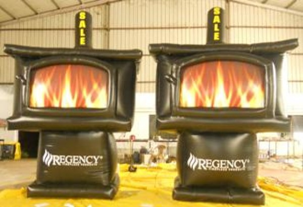 Fireplace Stove Inflatables