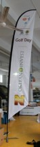 Advertising Feather Flags Advertising Feather and Banner Flags