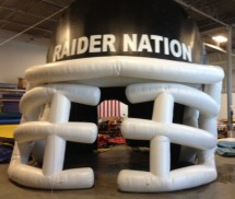 Sports Inflatables Advertising Sports Inflatables Helmet Inflatable