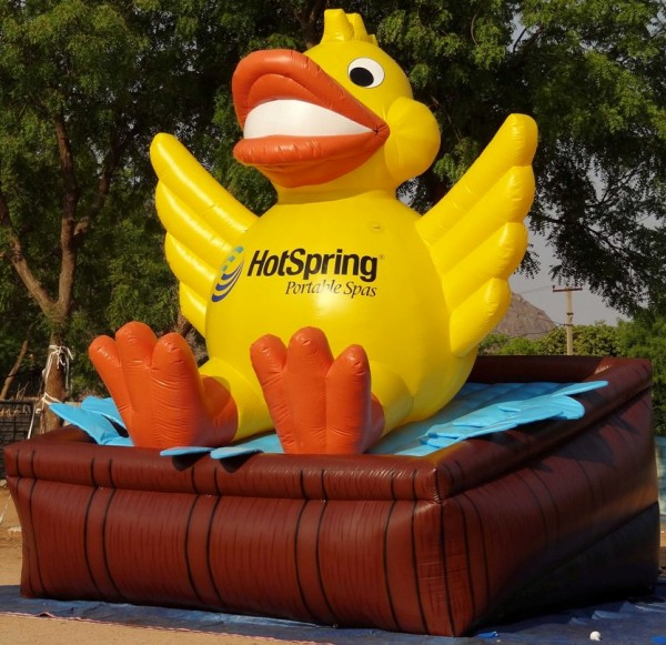 Hot Spring Duck Inflatable