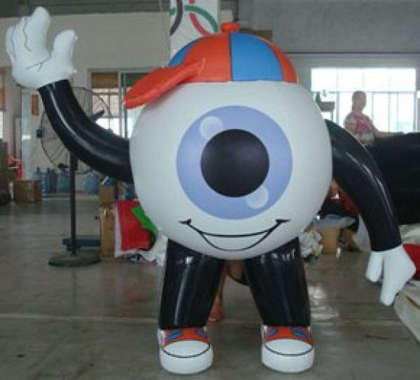 Eyeball Inflatable Character