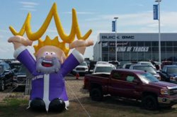 Car Dealer Inflatable Character