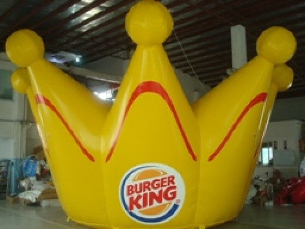 Burger King Crown Inflatable