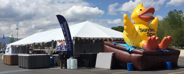 Custom Inflatable Advertising Custom Inflatable Advertising Sundance Tent Sale