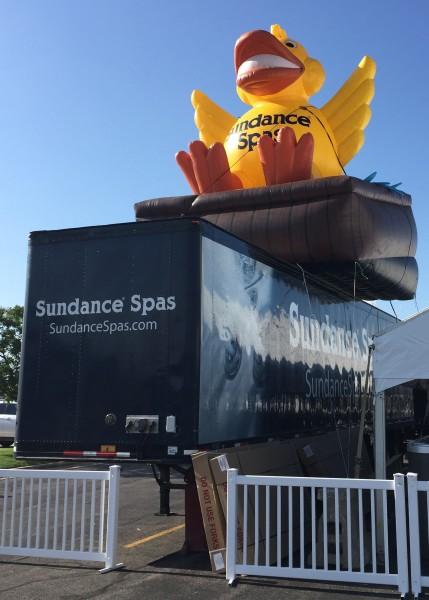 Custom Inflatable Advertising Custom Inflatable Advertising Sundance Truck Duck
