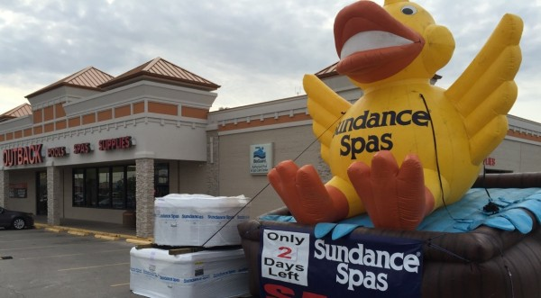 Custom Inflatable Advertising Custom Inflatable Advertising Sundance Store Duck Sale