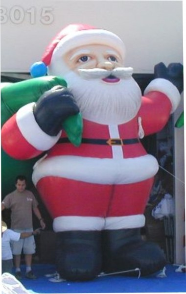 Santa Airblown Inflatables for Christmas Holiday Advertising