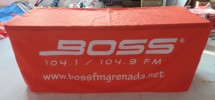 Promotional Pop Up Tents Promotional Pop Up Tents 6ft Fitted Logo Tablecover