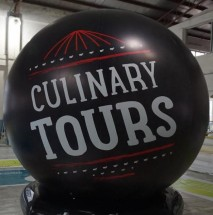 Inflatable Spheres Inflatable Advertising Spheres Catering Sphere