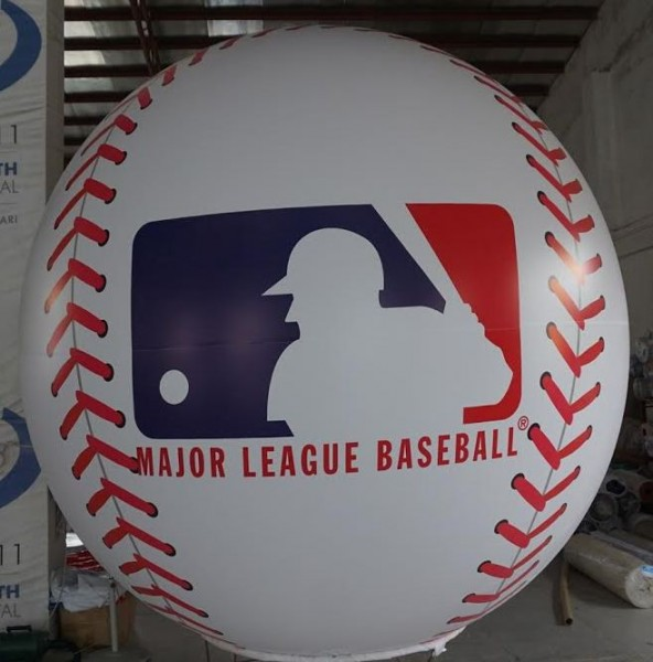 Inflatable Spheres Inflatable Advertising Spheres Major League Baseball Inflatable