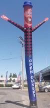Air Dancers Inflatable Air Dancer Lumberjack Air Dancer