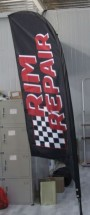 Advertising Feather Flags Advertising Feather and Banner Flags auto repair flags