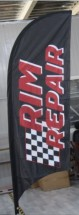 Advertising Feather Flags Advertising Feather and Banner Flags wheels & tires flags