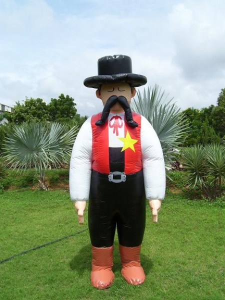 Inflatable Sheriff Costume