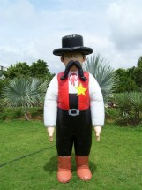 Inflatable Advertising Costumes Inflatable Advertising Costumes Inflatable Sheriff Costume